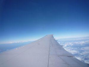 子どもたちと飛行機旅行